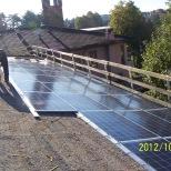 Impianto fotovoltaico integrato su casa di riposo - in corso d'opera