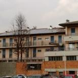 Impianto fotovoltaico integrato su casa di riposo